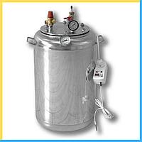 Автоклав электро ( 8 банок- 1л 24 банок-0.5 л) из нержавеющей стали