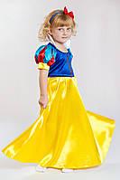 ПРОКАТ детский карнавальный костюм «БЕЛОСНЕЖКА» новинка!