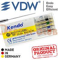 Каналонаповнювачі Кендо, Kendo Root Filler (VDW) фасовані в касету по 4 шт. 25 мм, ISO 25-40 асорті