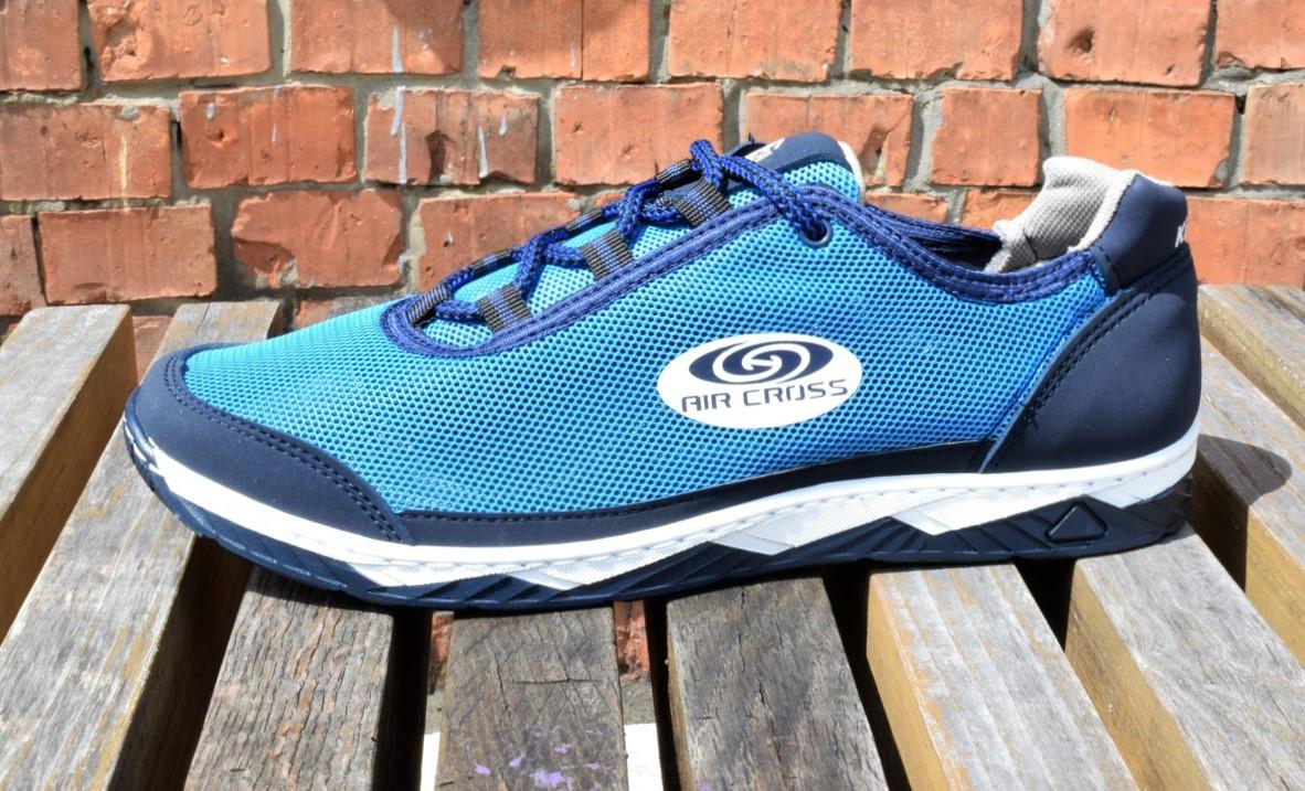 Кросівки чоловічі на літо, синя сітка 40,42,43 розмір