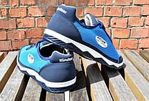Кросівки чоловічі на літо, синя сітка 40,42,43 розмір, фото 3