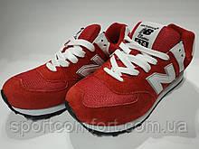 Кроссовки New Balance красные размеры 36 и 39