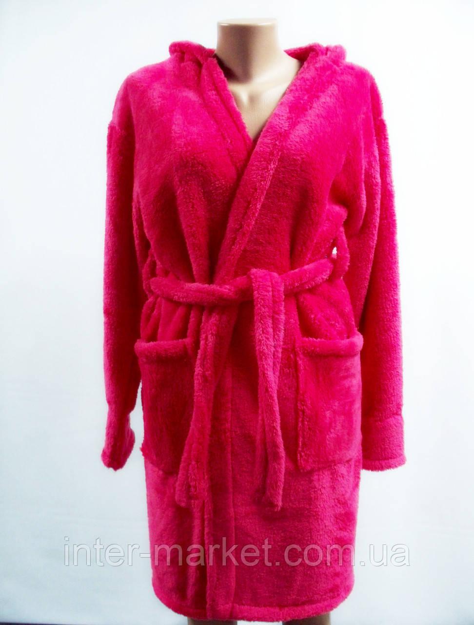 Махровый женский халат больших размеров, фото 1