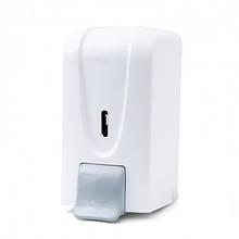 Диспенсер дезинфікуючого засобу та мила-піни 1л білий пластик dsa 100