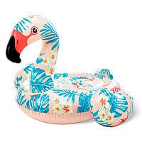 Надувной плот для катания Intex 57559 «Фламинго», 142*137*97 см, 2 ручки, фото 1