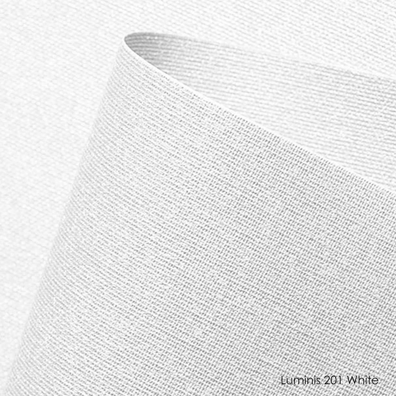Ролеты тканевые Luminis-201 white