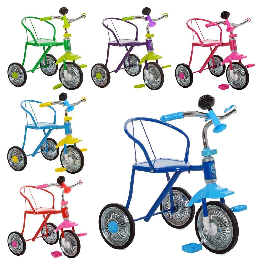 Велосипед 3-х колесный для юных водителей