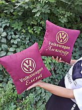Автомобільна подушка з додаванням імені власника