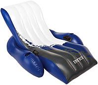 Надувное Кресло Шезлонг для Плавания Intex