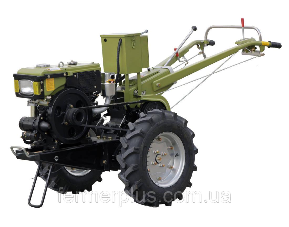 Мотоблок Кентавр MБ-1081Д + почвофреза (8 л.с., дизель, электростартер)