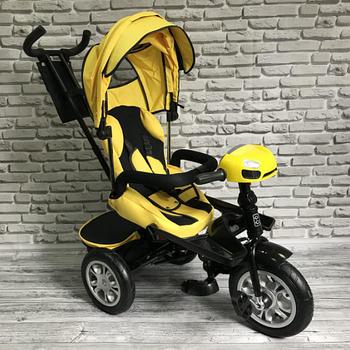 Велосипед трехколесный TREIKE| Желтый