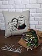 Подушка с вышитой фотографией, фото 2