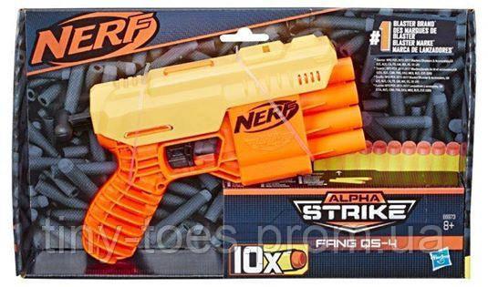 Бластер Nerf Alpha Strike Fang QS-4