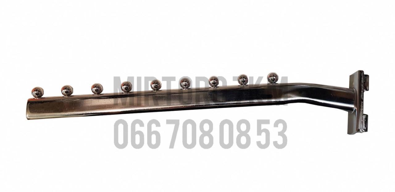 Кронштейн (Флейта) в рейку ПЕЛИКАН 40 см