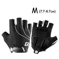 Перчатки велосипедные без пальцев гелиевые М, 7.7-8.7см, RockBros S107