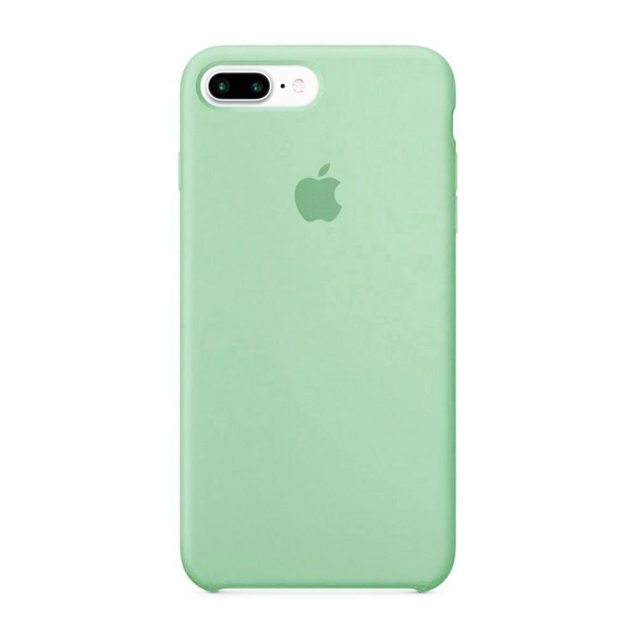 Накладка Silicone Case (high copy) iPhone 7 Plus / 8 Plus Бирюзовый
