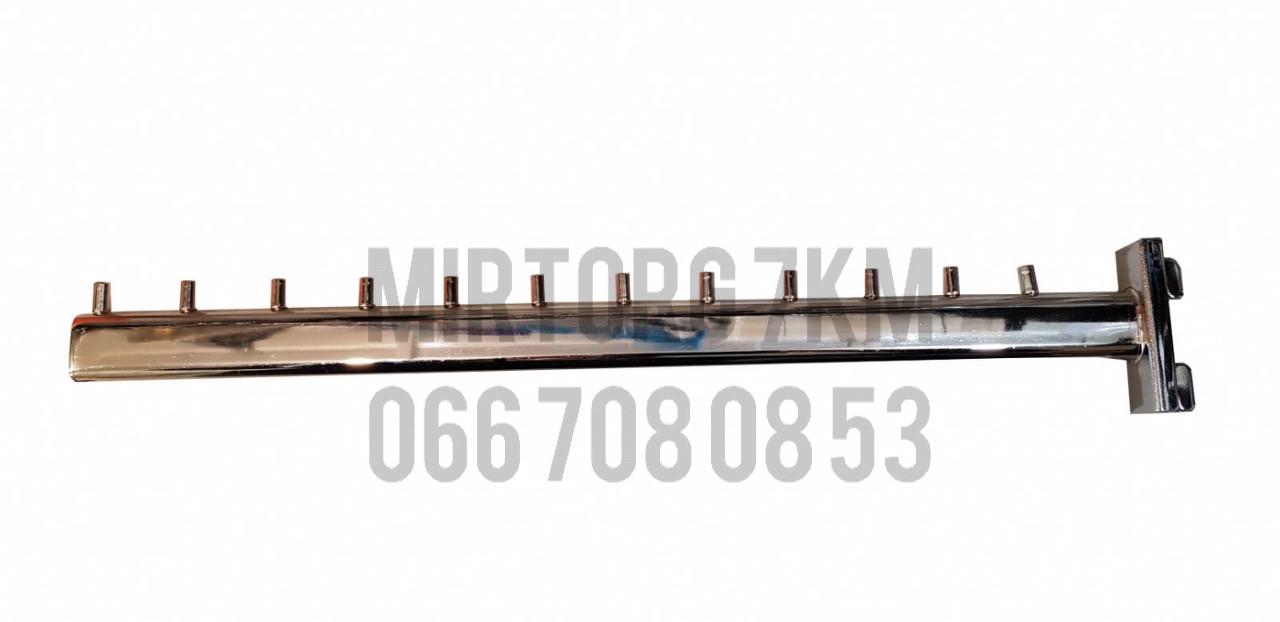 "Кронштейн (Флейта) в рейку ""ровная"" 45 см"