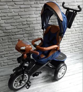Велосипед трехколесный TREIKE| Синий