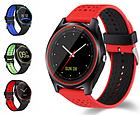 Умные Smart - часы спортивные стильные с сенсорным экраном и камерой в разных цветах V9 ОПТ, фото 4