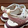 Розовые детские босоножки шлепки сандалии на липучке босоніжки шльопанці сандалі на липучці, фото 4