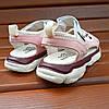 Розовые детские босоножки шлепки сандалии на липучке босоніжки шльопанці сандалі на липучці, фото 6