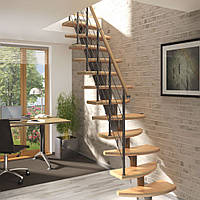 Модульная лестница DOLLE Rome Серебро, фото 1