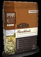 Сухой корм Acana Ranchlands Dog для собак всех пород и возрастов (говядина, ягненок) 2кг