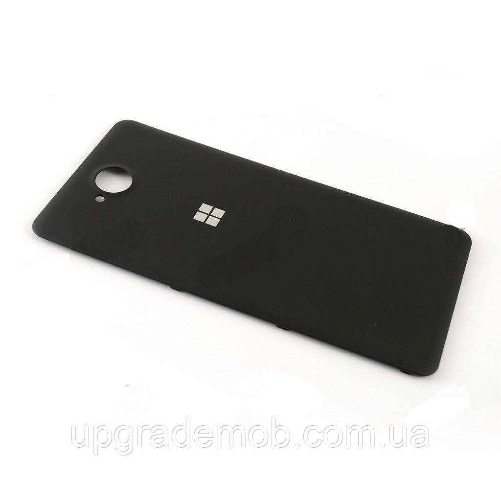 Задня кришка Microsoft 650 Lumia, чорна, оригінал