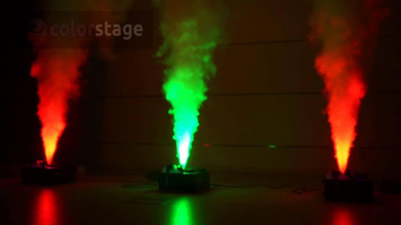 Аренда генератора дыма Fog Machine Moving Led RGB (с цветной подсветкой).