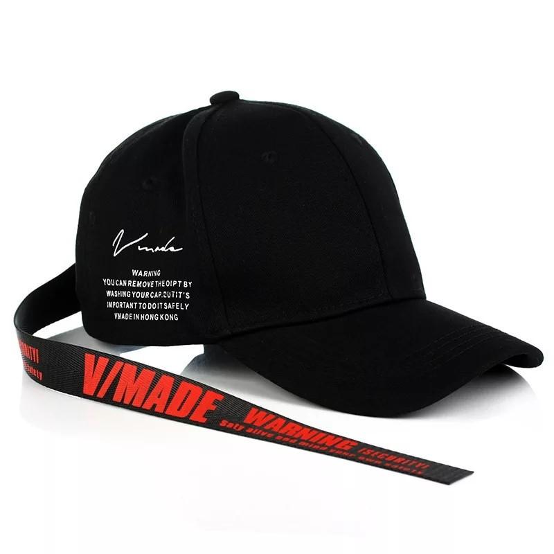 Кепка бейсболка Vmade, Унисекс Черный