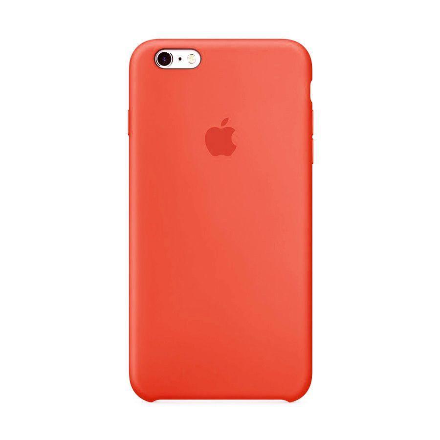 Накладка Silicone Case (high copy) iPhone 6 Plus / 6S Plus Персиковый