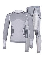 Комплект мужского термобелья Haster Alpaca Wool S/M Серый
