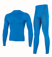 Комплект мужского термобелья Haster UltraClima S-M Синий (h0185)