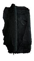 Кожа свинья подкладочная не вощенная черная, фото 1