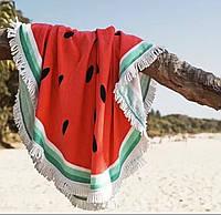 """Пляжное полотенце-покрывало """"Арбуз"""""""