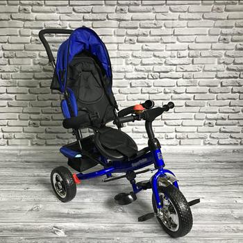Детский трехколесный велосипед Super Trike | Синий