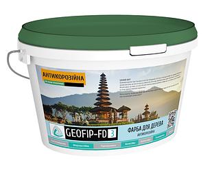 Антикорозійна фарба GEOFIP для дерева 13 кг (FD3)