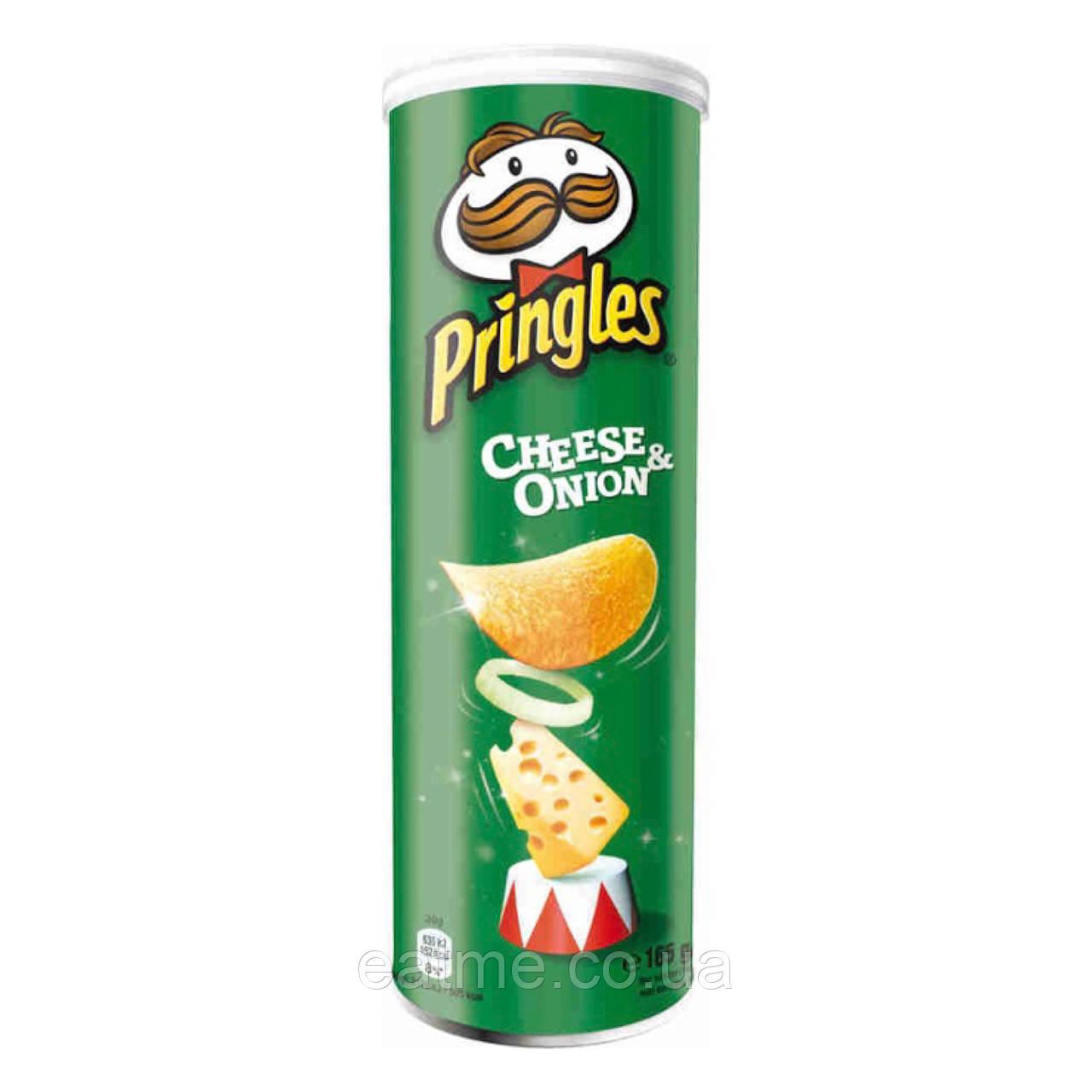 Pringles Сыр и лук