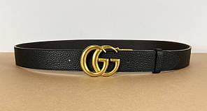 Двусторонний кожаный ремень Gucci