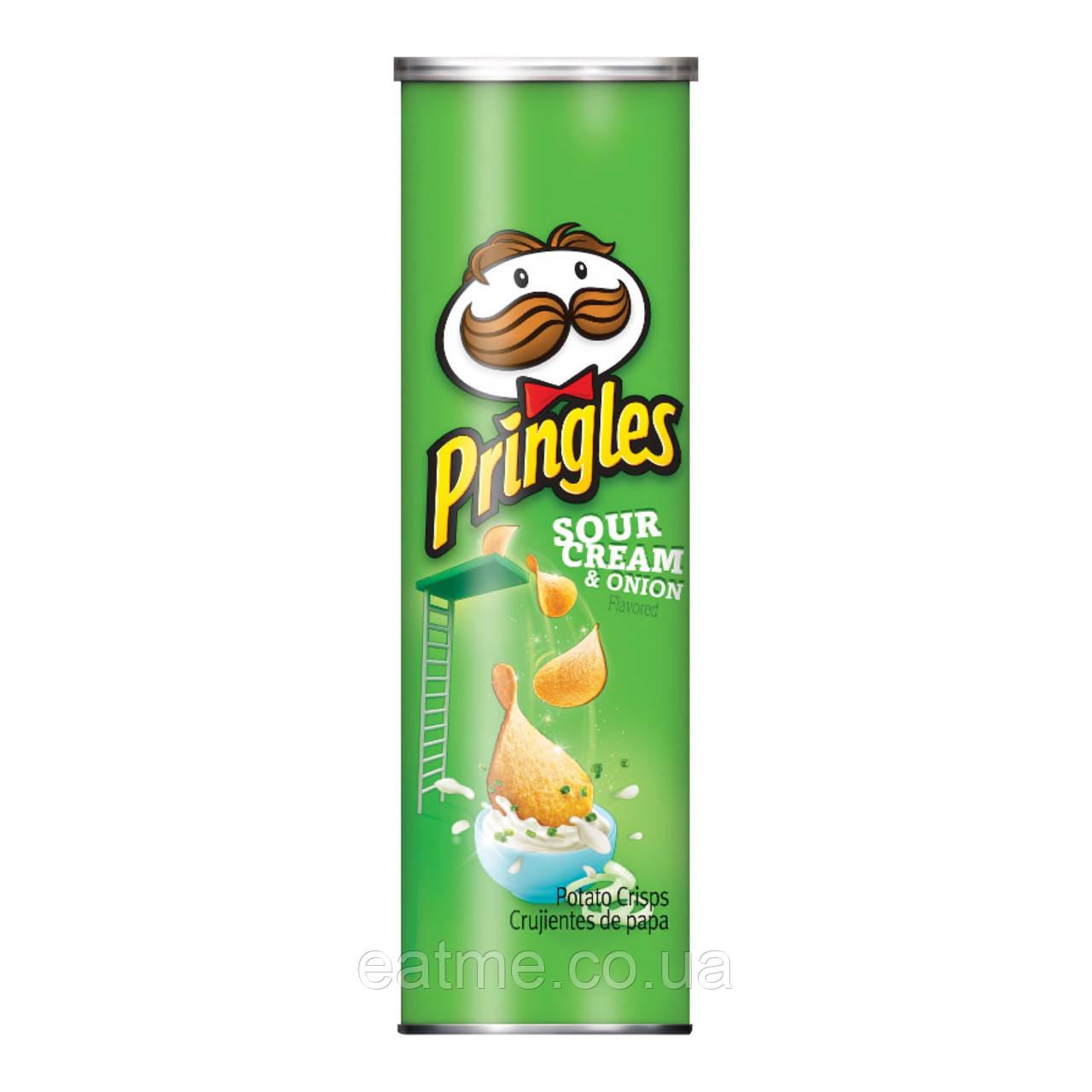 Pringles Сметана и зелень