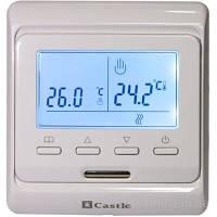 Программируемый термостат Castle белый