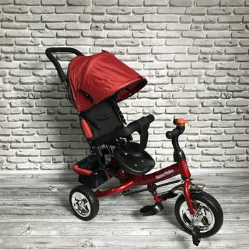 Детский трехколесный велосипед Super Trike | Красный