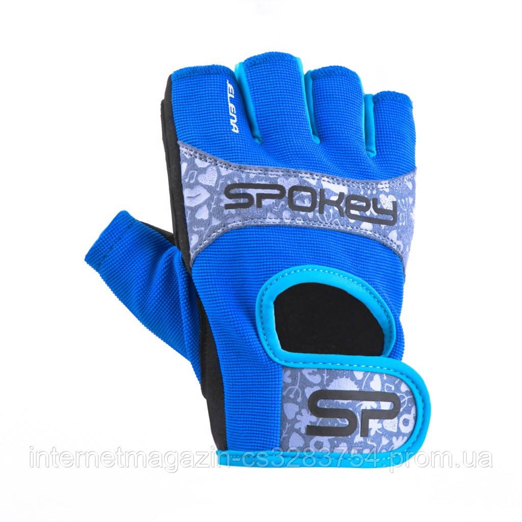 Женские перчатки для фитнеса Spokey ELENA II S Синий (s0296)