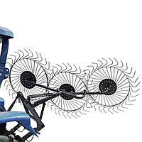 Грабли  для трактора ворошилки 3-колесные  (ГР5)  ЧП Крючков