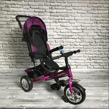 Детский трехколесный велосипед Super Trike | Фиолетовый