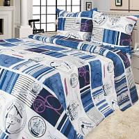Комплект постельного белья полуторный Сатин