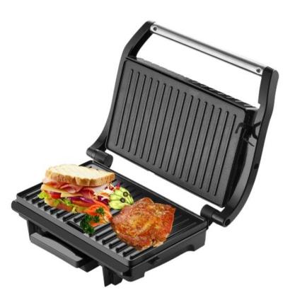Гриль тостер Livstar LSU-1210 прижимной контактный с регулировкой температуры   Электрогриль бутербродница