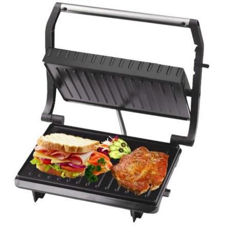 Гриль тостер Livstar LSU-1209 прижимной контактный | Электрогриль бутербродница