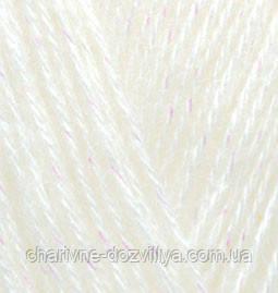 Пряжа для ручного и машинного вязания Alize Angora Gold Simli/Ализе Ангора Голд Симли