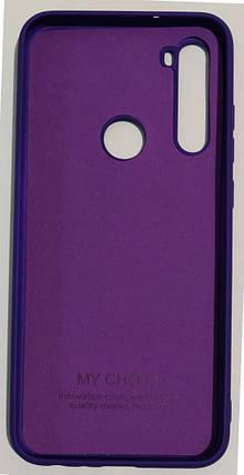 "Силіконовий чохол ""Original Silicone Case"" Xiaomi Redmi Note 8T Violet, фото 2"